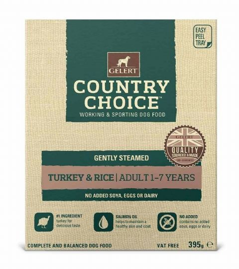 Gelerts Country Choice Turkey & Chicken  395g x 10